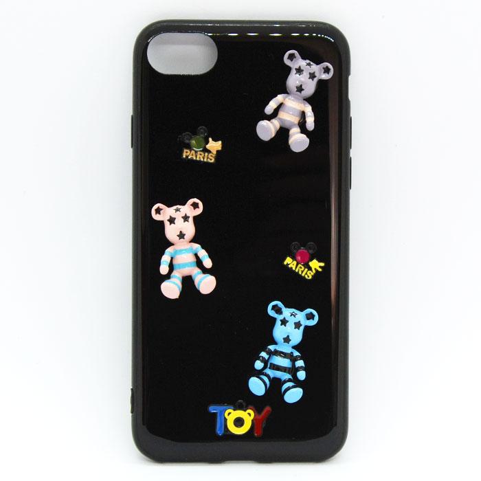 iPhone7/8 くまちゃんケース 可愛い おしゃれ 海外 耐衝撃 おもしろ スマホケース ケース カバー アイフォン