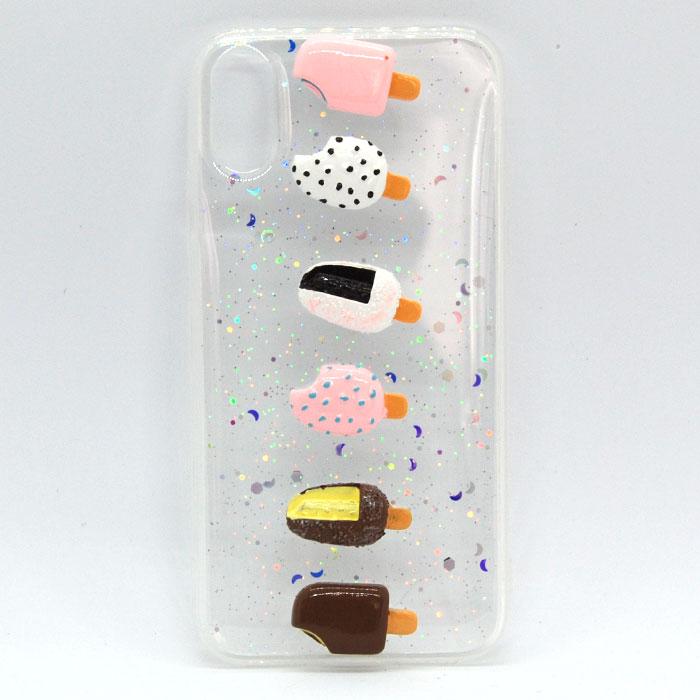 iPhoneX キラキラシリコンケース 可愛い おしゃれ 海外 耐衝撃 おもしろ スマホケース ケース カバー アイフォン