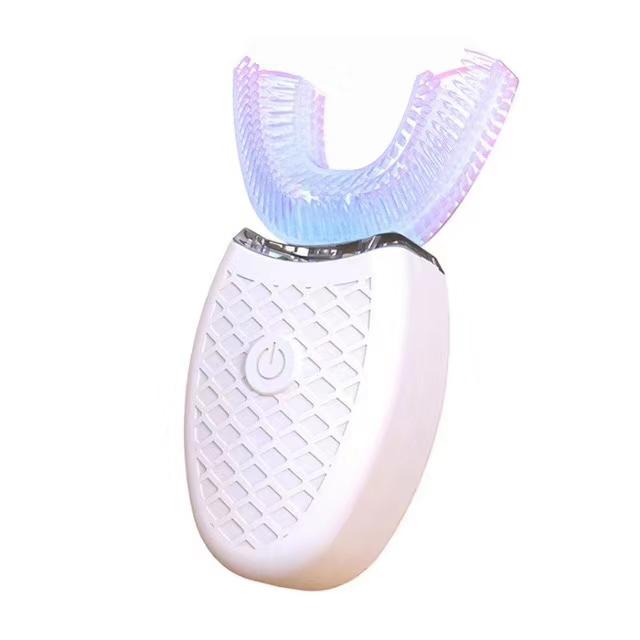 【2020年新発売】電動歯ブラシ Whitening ToothBrush 電動歯ブラシ 音波振動歯ブラシ IPX7防水 USB充電 360°U型  夏休み 七夕 浴衣
